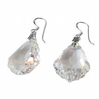 Swarovski AB barocken Crystal 92,5 Sterling Silber Haken Ohrring