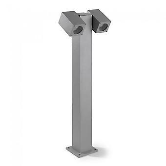 Icaro réglable Double lampe extérieure Bollard - Leds-C4 55-9190-34-37