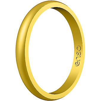 Enso Rings Halo Elements Series Silicone Ring - Gold