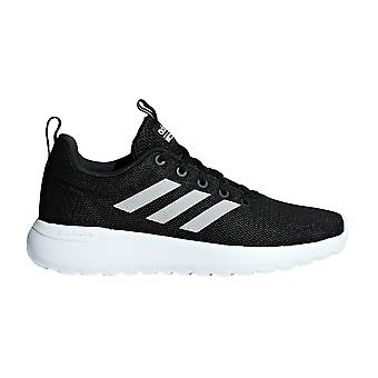 adidas Lite Racer CLN Kids Boys Sports Trainer Shoe Black/White