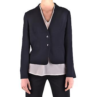 Armani Jeans Ezbc039082 Dames's Blauwe Viscose Blazer