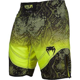 Venum Mens Fusion Kampf Shorts - schwarz/gelb