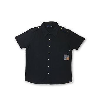 Agave Copper Frequency shirt in black