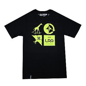 Lrg RC Logo Mash Up T-shirt Black Green