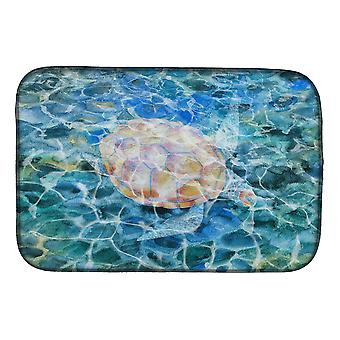 Carolines Treasures  BB5363DDM Sea Turtle Under water Dish Drying Mat
