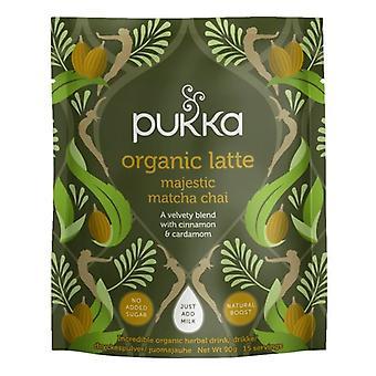 Pukka Majestic Matcha Chai latte orgânico 360g