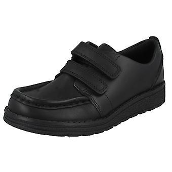 Boys Clarks Formal School Shoes MendipBright