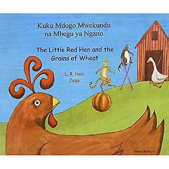 La petite poule rouge et les Grains de blé en Swahili et en anglais