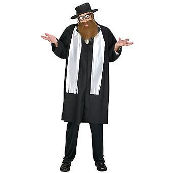 Rabbi juutalainen opettaja Torah mestari uskonnollinen miesten puku & hattu Payis