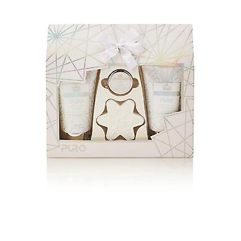 Style & Grace Puro Gift Of The Glow - 10ml Lip Balm, 50g Bath Fizzer, 110ml Body Wash and 110ml Body Lotion
