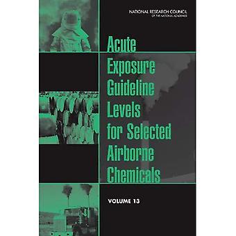 Niveles de guía de exposición aguda para productos químicos seleccionados en el aire:: Volumen 13