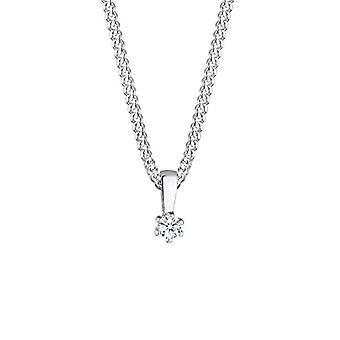 Diamore Women's Necklace in Silver 925 with Diamond