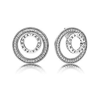 Pandora Silver Women's Stud Earrings - 297446CZ