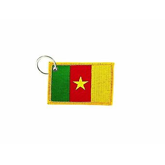 Cle Cles Clef Brode Patch Ecusson Badge Flag Cameroon