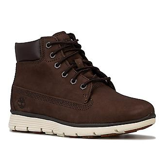 Enfants Boys Timberland Killington 6 Inch Boots In Brown- Lace Fastening-