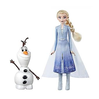 Frozen 2/Frost 2, talking Figures-Elsa & Olof