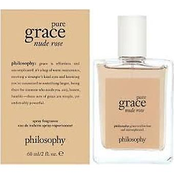 Filozofia Pure Grace Nude Rose Eau de Toilette 60ml EDT Spray