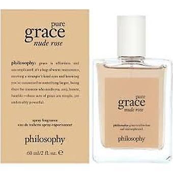 Philosophy Pure Grace Nude Rose Eau de Toilette 60ml EDT Spray