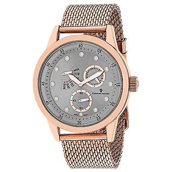 Christian Van Sant Men-apos;s Rio Silver Dial Watch - CV8713
