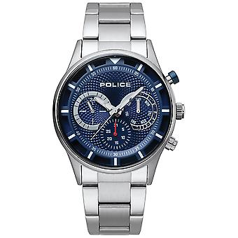 Police watches quartz analog man watch with PL.14383JS-03M stainless steel bracelet