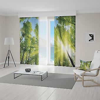 Meesoz Rideaux (2pcs) - Sun Forest