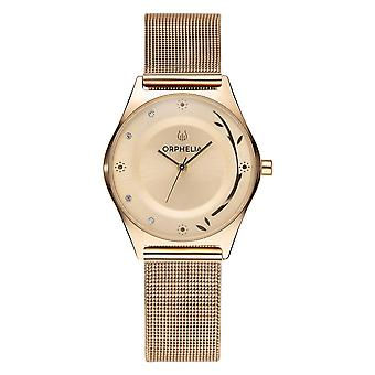 ORPHELIA Women Analogue Watch Opulent Chic  Gold Stainless steel OR15700