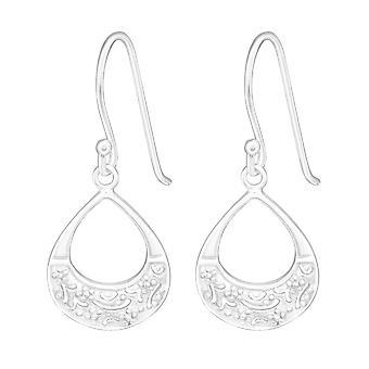 Tropfen - Ohrringe 925 Sterling Silber Plain - W20148X
