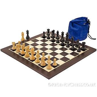 Jogo de xadrez de Wenge feroz cavaleiro