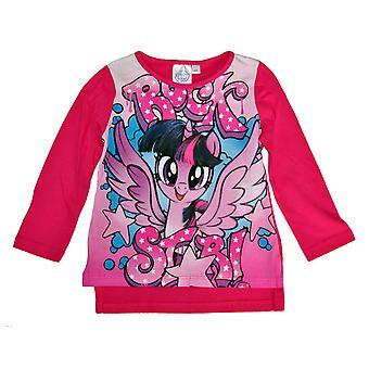 Mijn Little Pony lange mouw trui-roze met roze print