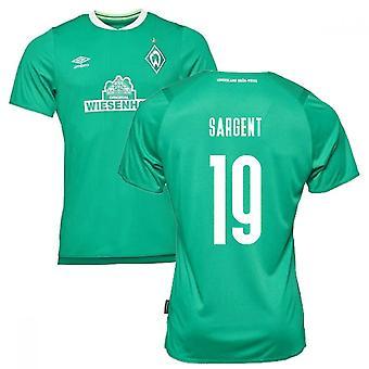 2019-2020 Werder Bremen Home Football Shirt (SARGENT 19)