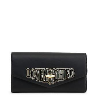 Love moschino women's clutch bag - jc5608pp18lf, black