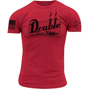 Grunt Style Double Tap Room T-Shirt - Red