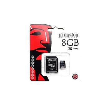 Kingston 8GB Micro SD Class 4 with standard SD adaptor