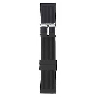 Watch I Am The Watch IAM-301 - Black Steel Loop Bracelet / Large 20 mm