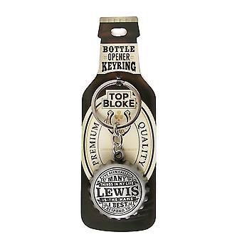 Historie & heraldik keyring-Lewis Bottle opener