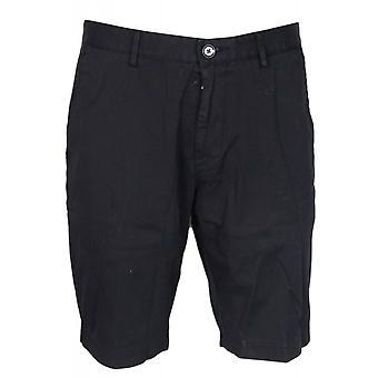 Hugo Boss skive bomuld sort Chino Shorts