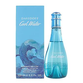 Davidoff Cool Water Summer 100ml Eau de Toilette  for Women 2019 Limited Edition