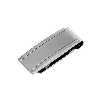 Stainless Steel Money Clip Ridged Money Clip Jewelry Gifts for Men