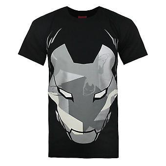 Addict X Marvel Iron Man Camo Mask Miesten's T-paita