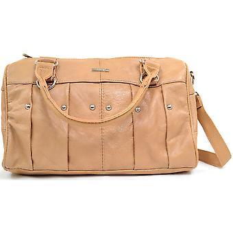 جلد حقيبة يد السيدات لينة/تحمل حقيبة--أسود