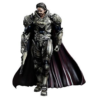 Superman Man of Steel Jor-El Play Arts Action Figur