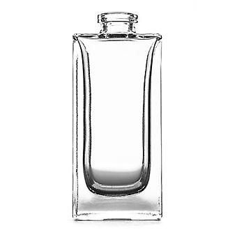 100ml clear square room spray bottle - box of 24