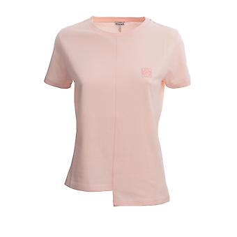 Loewe S6299062cr7140 Women's Pink Cotton T-shirt