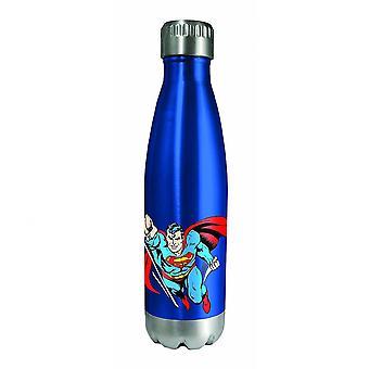 Superman karakter en symbool roestvrij water fles