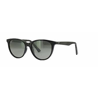 Maui Jim Cathedrals GS782 02 Gloss Black/Neutral Grey Sunglasses