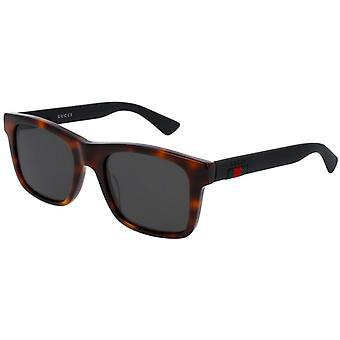 Gucci GG0008S 006 Havana/Polarised Grey Sunglasses