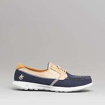 Skechers الذهاب المشي لايت السيدات قارب أحذية البحرية