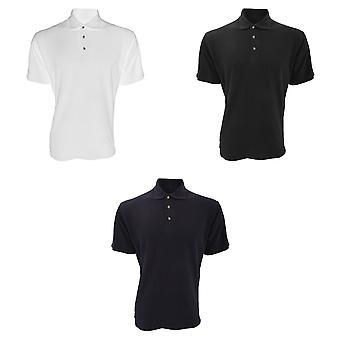 Kustom Kit Mens Augusta Premium camisa Polo de manga curta