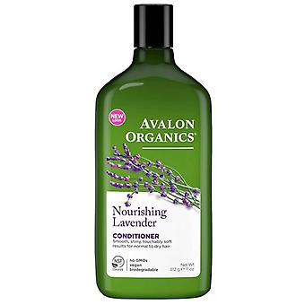 Avalon organics conditioner, nourishing lavender, 11 oz