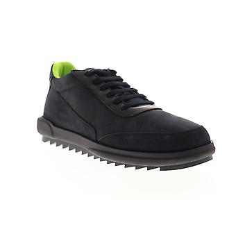 Camper Marges  Mens Black Nubuck Leather Low Top Sneakers Shoes